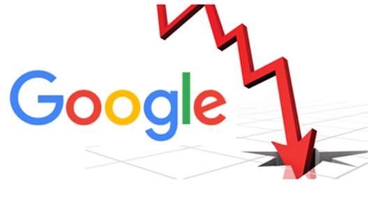 دلایل کاهش محبوبیت سایت در گوگل ، علت کاهش ورودی سایت از گوگل ، علت افت رتبه سایت در گوگل ، افت رتبه سایت در گوگل ، drop site rank in Google